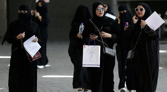 Suudi Arabistan'da bir ilk daha: Kadınlar artık erkeklerle aynı kapıdan geçebilecek