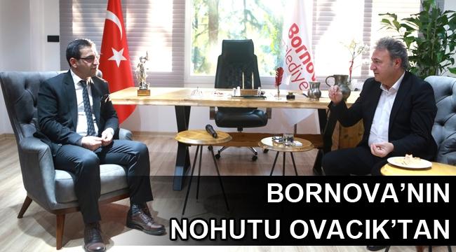 Bornova'nın nohutu Ovacık'tan