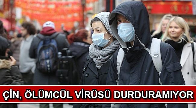 Çin, ölümcül virüsü durduramıyor