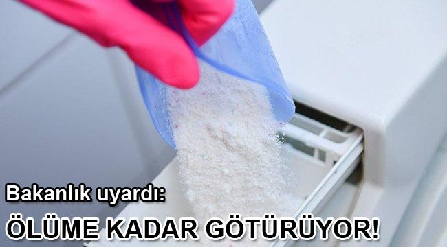 Etiketsiz deterjanda büyük tehlike! Ölüme kadar götürüyor