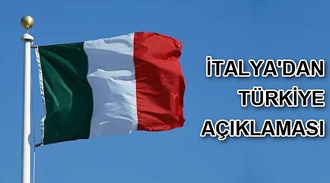 İtalya'dan Türkiye açıklaması