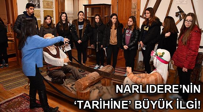 Narlıdere'nin 'tarihine' büyük ilgi!