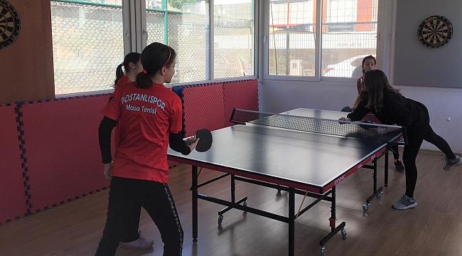 Bostanlıspor Masa Tenisinde yeni şampiyonlar yetiştiriyor