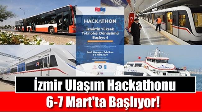 İzmir Ulaşım Hackathonu Başlıyor