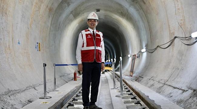 Ekrem İmamoğlu'ndan metro müjdesi!