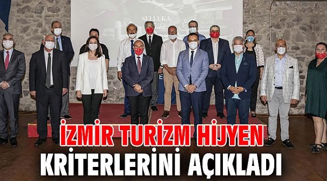 İzmir Büyükşehir Belediyesi Turizm Hijyen Kurulu, hijyen kriterlerini açıkladı