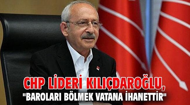 CHP lideri Kılıçdaroğlu'ndan sert açıklamalar!