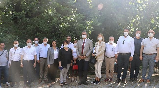 İZSU Genel Müdürlüğü'nden Tire'ye ziyaret!