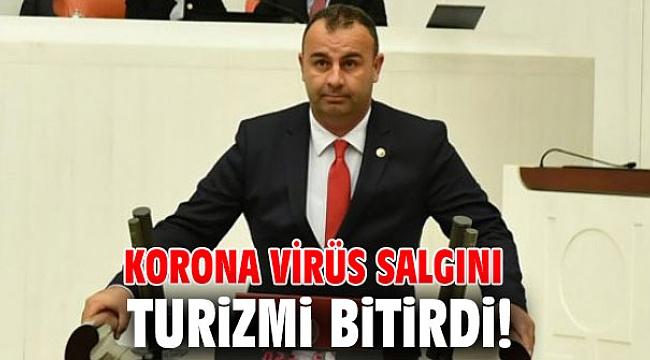 Korona virüs salgını turizmi bitirdi!