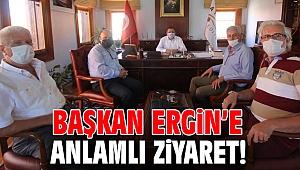 Başkan Ergin'e anlamlı ziyaret!