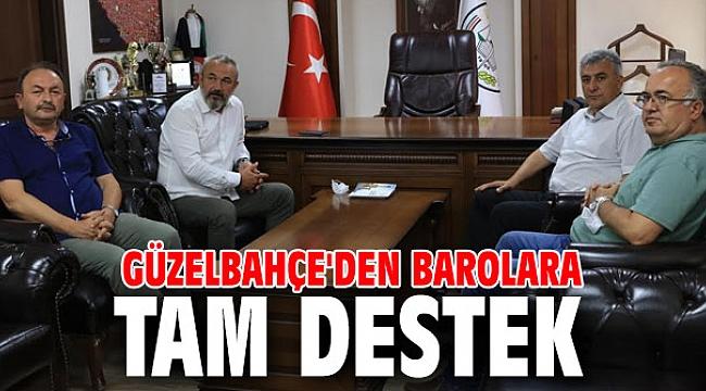 Güzelbahçe'den İzmir Barosuna ziyaret