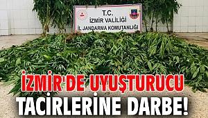 İzmir'de uyuşturucu tacirlerine darbe!