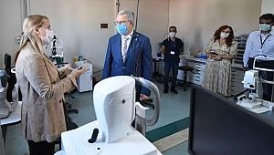 EÜ Göz Hastalıklarına 2,5 milyon TL'lik yatırım yapıldı