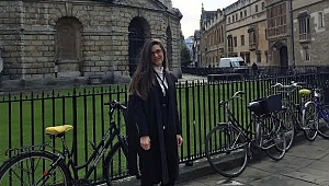 Genç avukat Beril'den uluslararası başarı