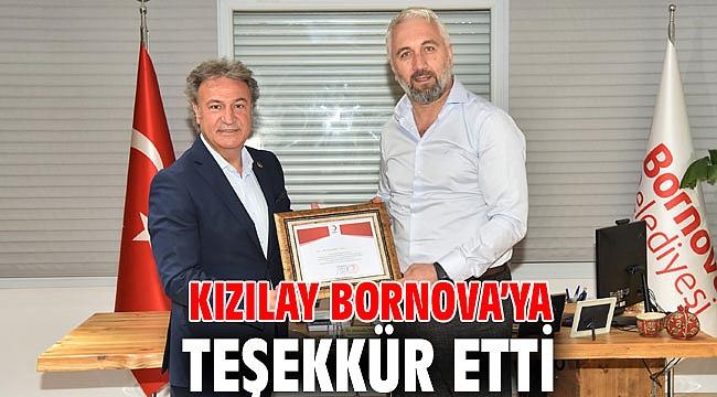 Kızılay Bornova teşekkür etti