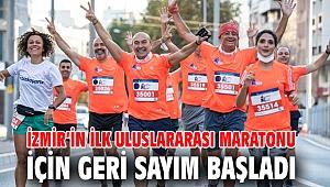 İzmir'in ilk uluslararası maratonu başlıyor....