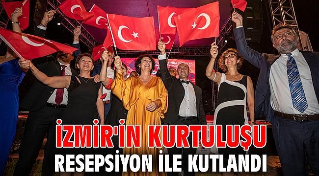 İzmir'in Kurtuluşu resepsiyon ile kutlandı