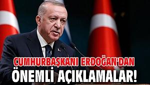Cumhurbaşkanı Erdoğan'dan önemli açıklamalar! Koronavirüste yeni tedbirler gelecek mi?
