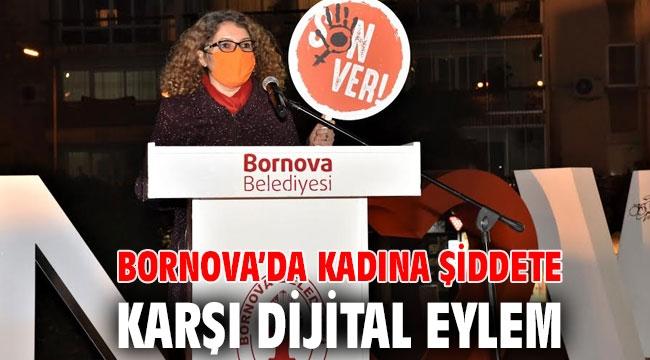 Bornova'da kadına şiddete karşı Dijital Eylem