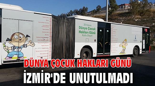 Dünya Çocuk Hakları Günü, İzmir'de unutulmadı