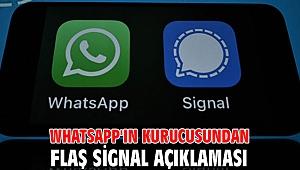 WhatsApp'ın kurucusundan flaş Signal açıklaması