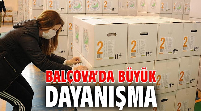 Balçova'da Büyük Dayanışma