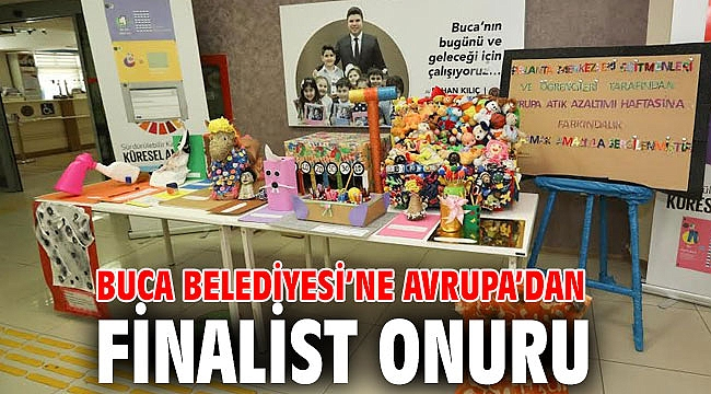 Buca Belediyesi Türkiye'de finalist olan tek yerel yönetim oldu