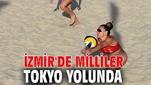 İzmir'de Milliler Tokyo yolunda