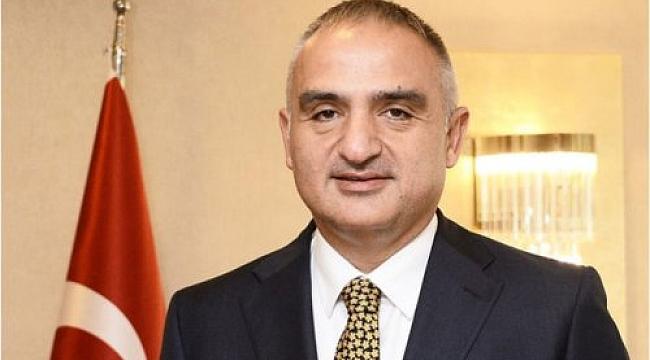 Kültür ve Turizm Bakanı Ersoy'dan turizm açıklaması