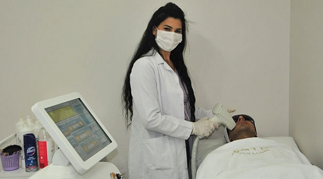 Lazer epilasyonu sadece kadınlar değil erkekler de talep ediyor