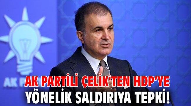 AK Partili Çelik'ten HDP'ye yönelik saldırıya tepki!