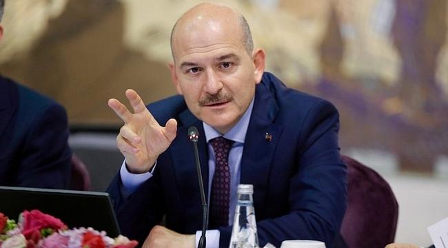 Bakan Soylu'dan flaş kaçak göçmen açıklaması!