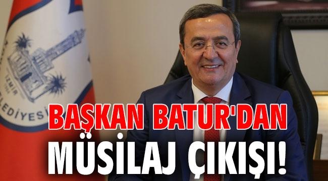 Başkan Batur'dan müsilaj çıkışı!