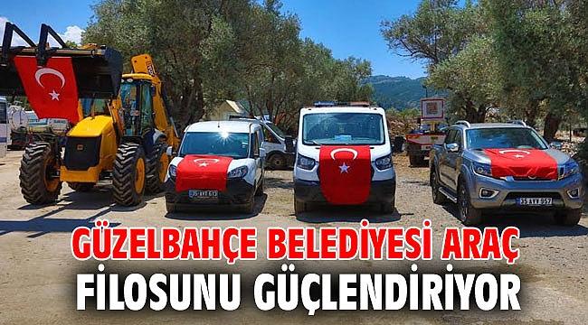 Güzelbahçe Belediyesi Araç Filosunu Güçlendiriyor