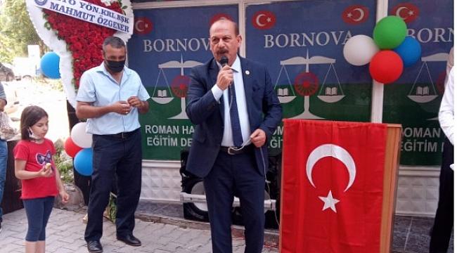 Bornova Roman Hakları Eğitim Derneği kapılarını açtı