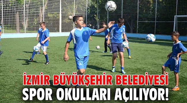 İzmir Büyükşehir Belediyesi Spor Okulları açılıyor!