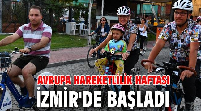 Avrupa Hareketlilik Haftası İzmir'de başladı