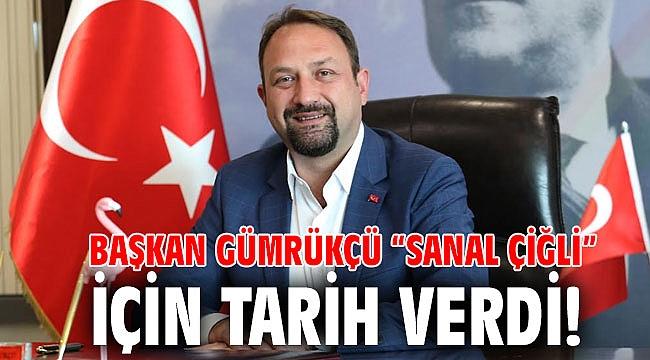 """Başkan Gümrükçü """"Sanal Çiğli"""" için Tarih Verdi!"""