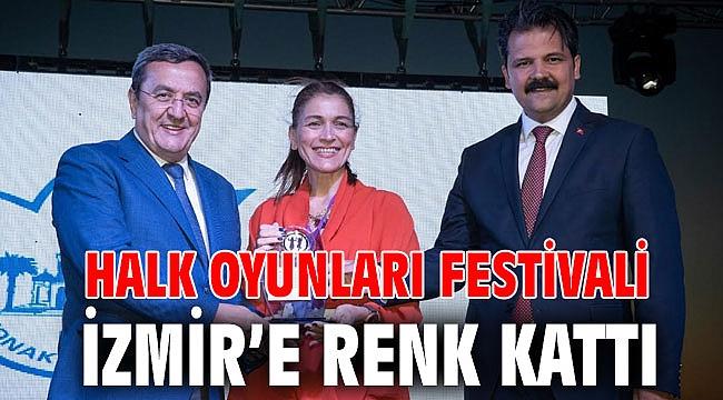 Halk Oyunları Festivali, İzmir'e renk kattı
