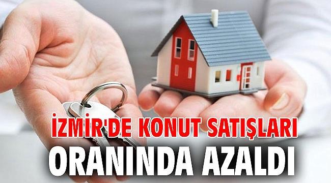 İzmir'de konut satışları %30,6 oranında azaldı