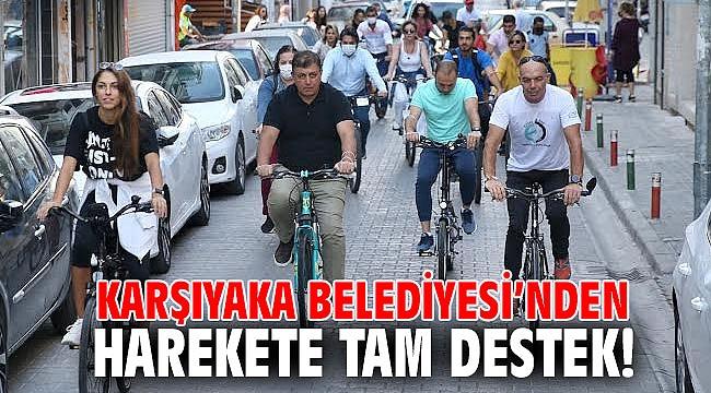 Karşıyaka Belediyesi'nden harekete tam destek!