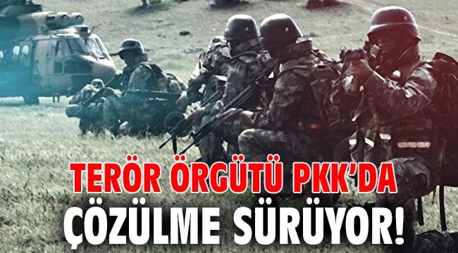 Terör örgütü PKK'da çözülme sürüyor!