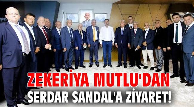 Zekeriya Mutlu'dan Serdar Sandal'a ziyaret!