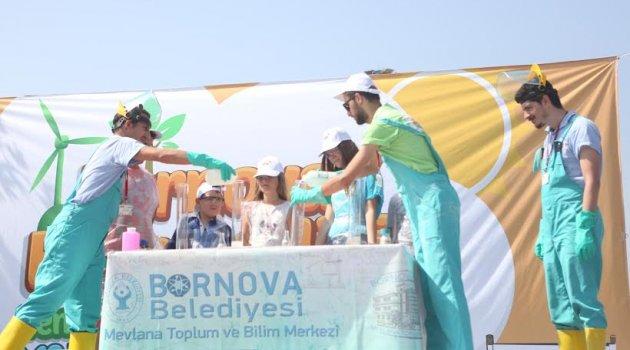Bornova'da sıradışı bilim etkinliği